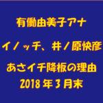あさイチ、イノッチ(井ノ原快彦)も有働由美子アナに続いて3月降板!その理由(わけ)は?|「あさイチ」見逃した番組を動画でみたいときはどうする?