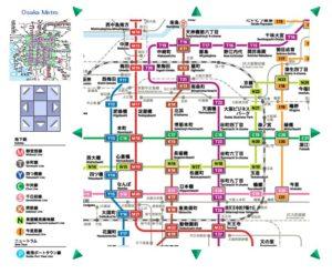 図 メトロ 大阪 路線 地下鉄